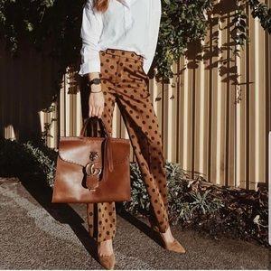 Zara Blogger Favorite Polka Dot Trouser Pant 2132